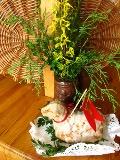 wielkanocne dekoracje, wiosenne aranżacje, forsycja i bukszpan, ekspozycja świąteczna, Wielkanoc, urządzanie zielonego domu, aranżacje z roślin, galeria ogrodowa