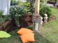 wypoczynek na trawie, wakacje w ogrodzie, zaproszenie do wypoczynku