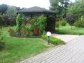 rośliny ozdobne altana ogrodowa, miejsce do siedzenia w ogordzie, aranżacje, ogród, urządzanie ogrodu, aranżacje z roślin, galeria ogrodowa
