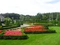 ogród w stylu francuskim, zdjęciua ogrodów, ogrody w Licheniu, ukwiecone klomby, dodatki ogrodowe,  rośliny ozdobne, aranżacje, ogród, urządzanie ogrodu, aranżacje z roślin, galeria ogrodowa
