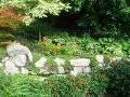 rośliny na lato, murek z kwiatami, ogród, lato w  ogrodzie, ogród latem, relaks w ogrodzie   dodatki ogrodowe,  zdjęcia, galeria ogrodowa, zdjęcia ogrodów, ogród ozdobny