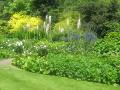 ogród angielski, ogród naturalistyczny w stylu angielskim, rabata bylinowa, style ogrodowe
