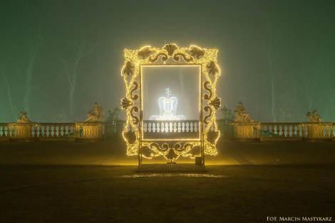 Wilanów Królewski Ogród światła Ogrodnik Amator