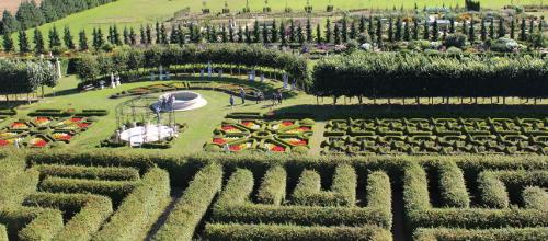 Ogrody Villandry, piękne ogrody Europy, ogrody parki w Polsce,